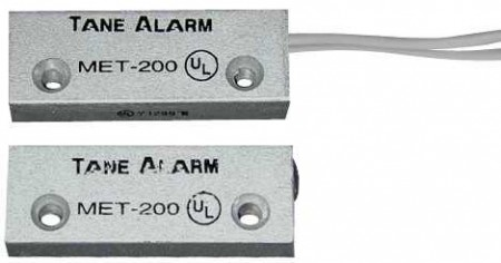 Contact magnetic aparent, Tane Alarms MET 200  - Tane Alarms USA