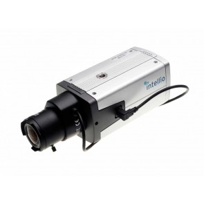 Camera IP de tip Box pentru interior, Intellio ILD-420B  - Intellio