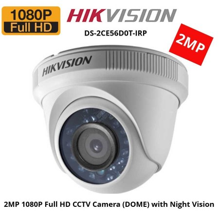 Camera video HD, 2Mpx, Hikvision DS-2CE56D0T-IRP