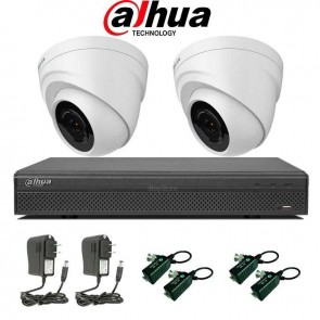 Kit de supraveghere video Dahua cu 2 camere de interior si DVR + HDD 1 TB , KIT15  - Dahua