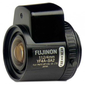 "Lentila cu iris manual 1/3"" de 4mm F1.2 - C, UTC Fire & Security AR-YF4A-2"