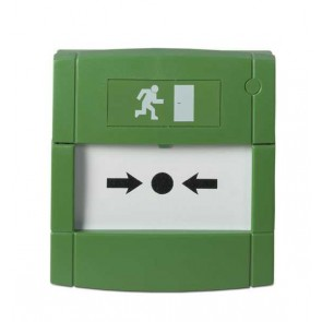 Buton verde IP67, UTC Fire & Security DMN700GE