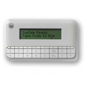 Tastatura LCD cablata, afisaj cu 16 caractere, UTC Fire & Security NX-1048-W  - Utc Fire & Security