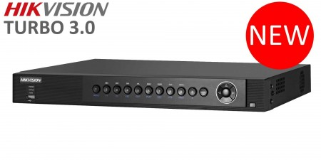 DVR TURBO HD 3.0 4 Ch IN Video, Hikvision DS-7204HUHI-F1/N