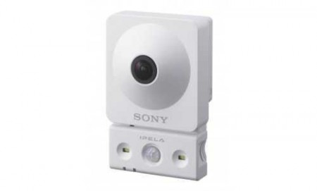 Camera IP Wireless Cube pentru interior, Sony SNC-CX600W  - Sony